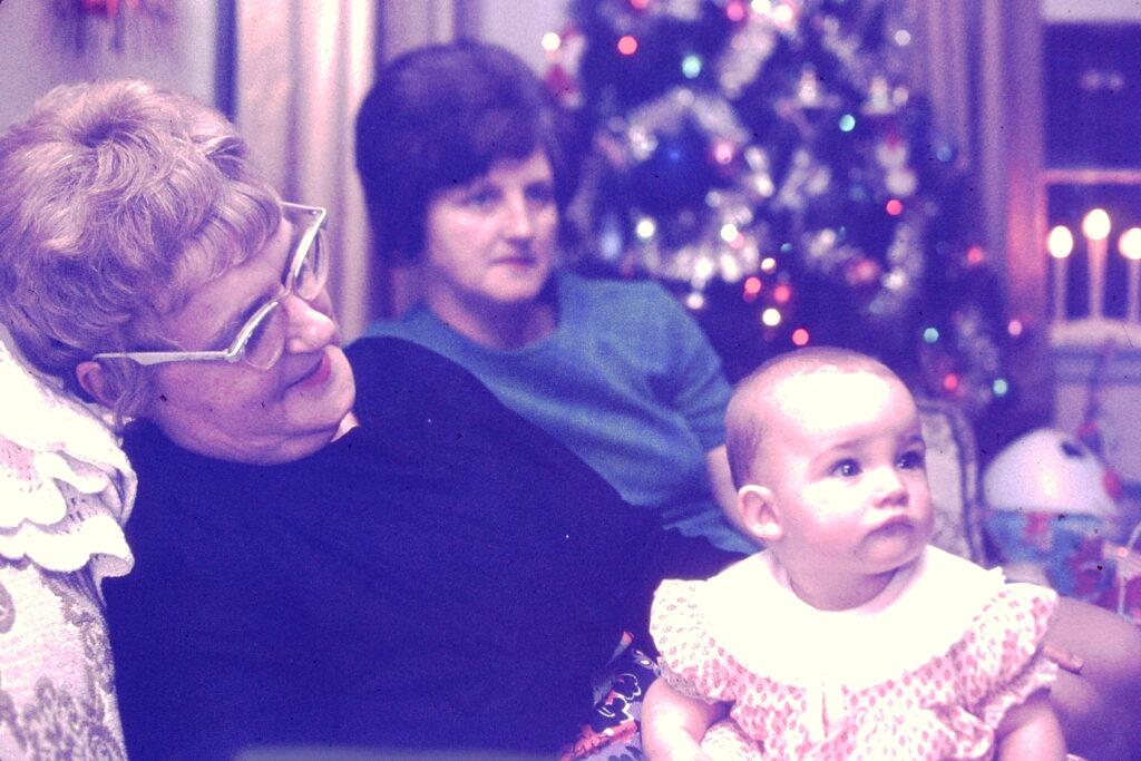 nana, grandma and me