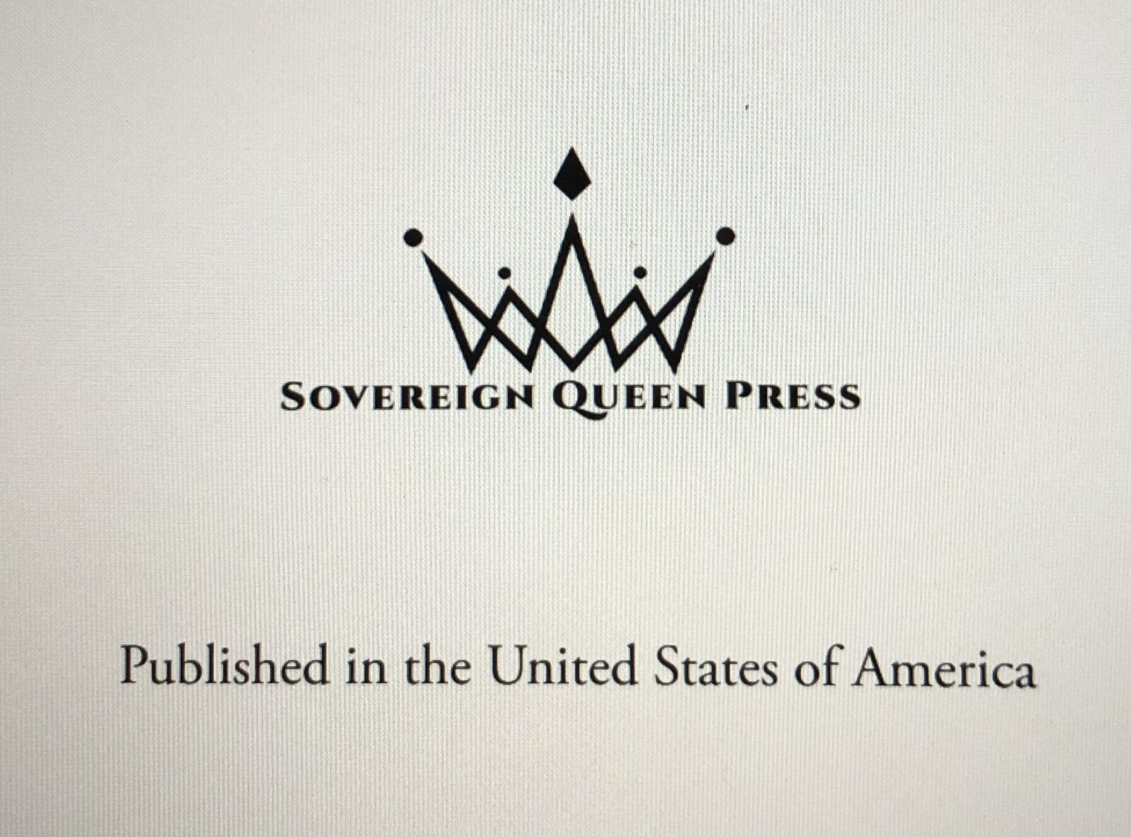 Sovereign queen press, a life suspended, publisher